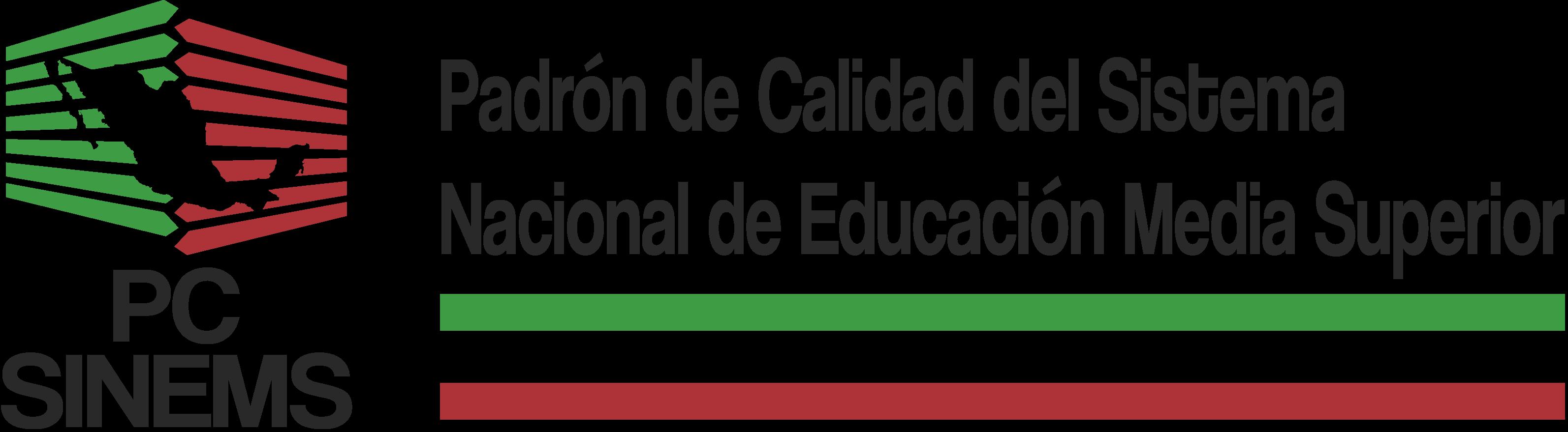 logotipo Padrón de Calidad del Sistema Nacional de Educación Media Superior