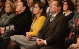 Mtra. Rosa Eugenia Velasco, Dra. Sonia Reynaga, Lic. Cynthia Cantero, Dr. Dante Haro, funcionarios Universitarios y  comisionada Presidenta ITEI
