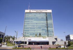 Fachada edificio Cultural y Administrativo UdeG