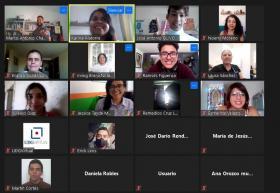 Participantes en línea del programa Cultura incluyente UDGVirtual