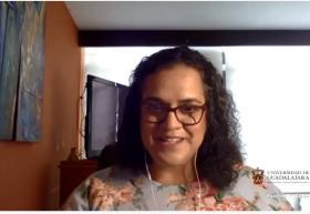 Mtra. Paola Mercado Lozano, coordinadora de la maestría