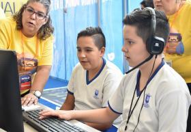 Niños de 10 a 12 años participan en Pabellón de UDGVirtual