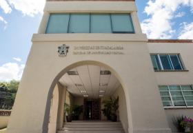 Fachada Casa La Paz, sede de UDGVirtual