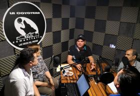 Cabina de audio La Coyotera