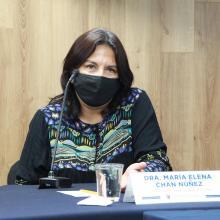 Doctora María Elena Chan Núñez, jefa de la Unidad de Programas Estratégicos
