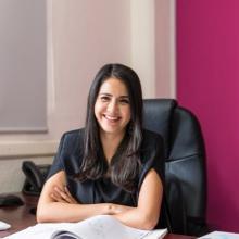 Areli Navarrete, egresada de la maestría en Transparencia y Protección de Personales