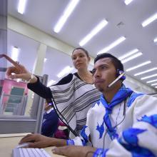 Persona wixárika y el uso de las tecnologías