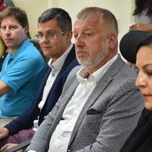 Integrantes de la delegación de la República Checa
