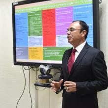 Isaac Delgado González, egresado de la maestría en Generación y Gestión de la Innovación