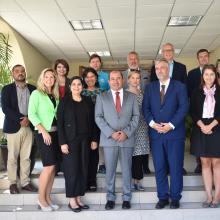 Delegación de la República Checa y Directivos de UDGVirtual