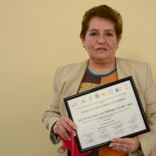 Eva Luz Orozco Flores, responsable del Área del Programa de Formación y Capacitación Docente