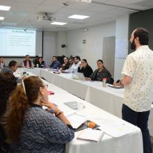 """directivos de UDGVirtual en el curso de """"Capacitación en Igualdad de Género"""","""