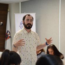 Yair Maldonado Lezama, encargado de la capacitación