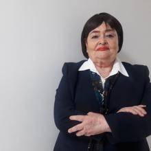 Sara Elena Velasco, egresada de la maestría en Gestión de Servicios Públicos en Ambientes Virtuales