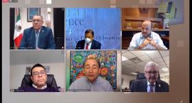 Panel de Rectores organizado por The Americas Conference of Universities