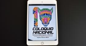 Sitio web del 10 Coloquio Nacional de Educación Media Superior