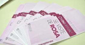 """Flyer de la campaña """"UDGVirtual se viste de rosa"""""""