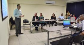 Reunión entre académicos de UDGVirtual y la UAN