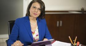 Dra. María Esther Avelar Álvarez, Rectora del Sistema de Universidad Virtual