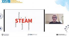 Tomas De Camino Beck, durante su ponencia virtual