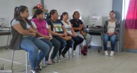 Asistentes durante el taller impartido