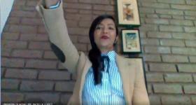 Yahaira Guadalupe Padilla López, egresada de la Maestría en Periodismo Digital