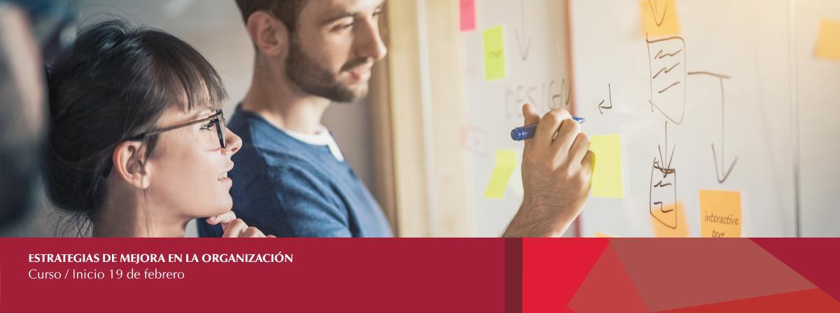 19 de febrero, inicio de curso Estrategias de mejora en la organización, ¡Inscríbete!