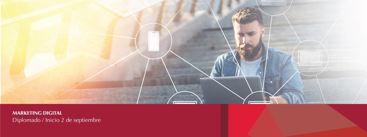 """Diplomado en línea """"Marketing digital"""" inscripciones antes del 2 de septiembre"""
