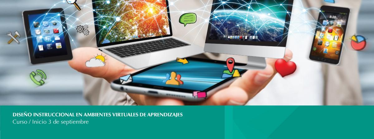 3 de septiembre Curso diseño instruccional en ambientes virtuales de aprendizaje