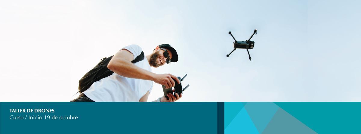Curso taller de drones inicio 19 de octubre