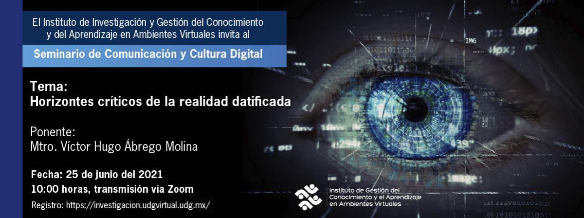 Seminario de Comunicación IGCAAV informes al correo igcaav@suv.udg.mx