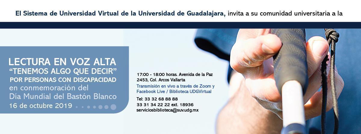 Lectura en voz alta, por personas con discapacidad 16 de octubre 17 horas, Casa La Paz