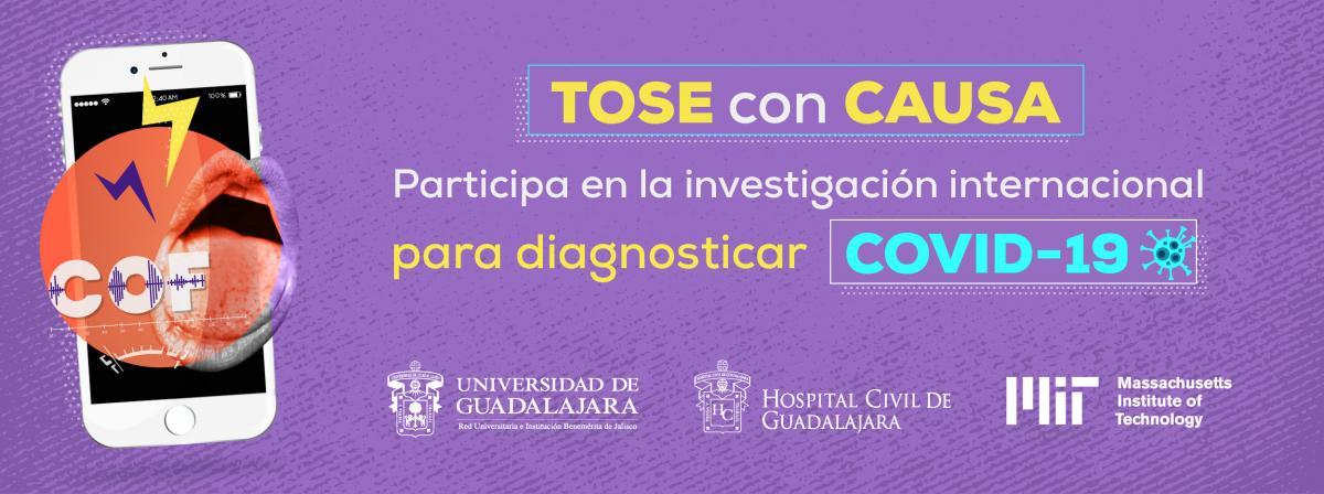 Tose con causa, participa en la investigación para diagnosticar COVID-19