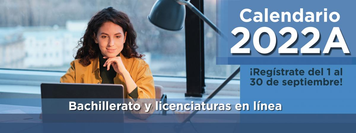 Calendario de trámites de bachillerato y licenciaturas en línea, registro del 1 al 30 de septiembre