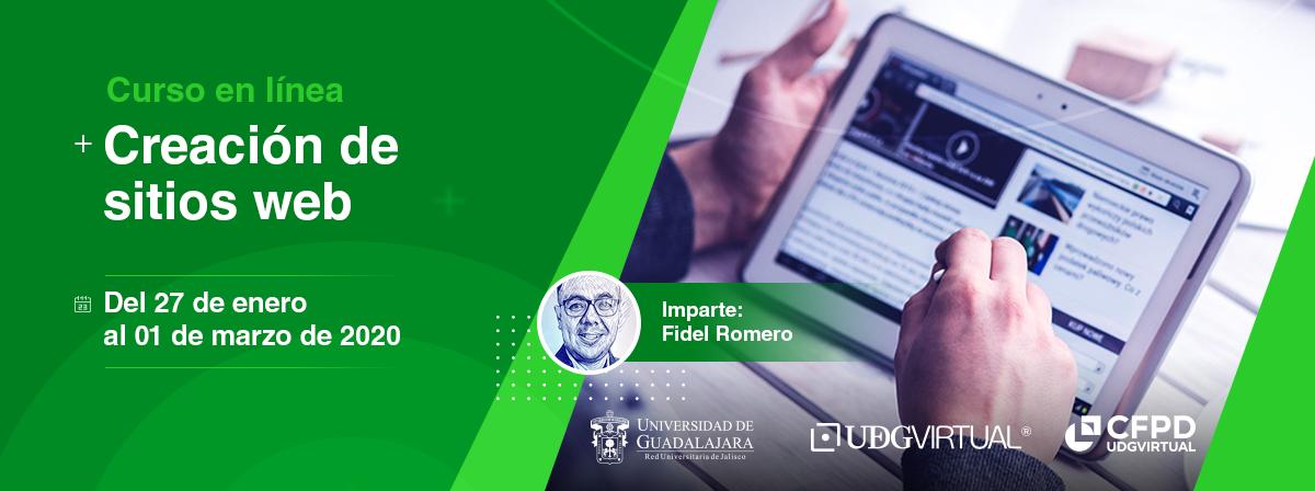 """Curso en línea """"creación de sitios web"""" Centro de Formación en Periodismo Digital"""