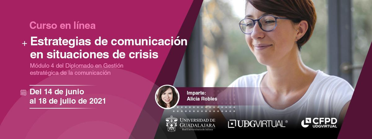 Curso en línea Estrategias de comunicación en situaciones de crisis, ¡Inscríbete!
