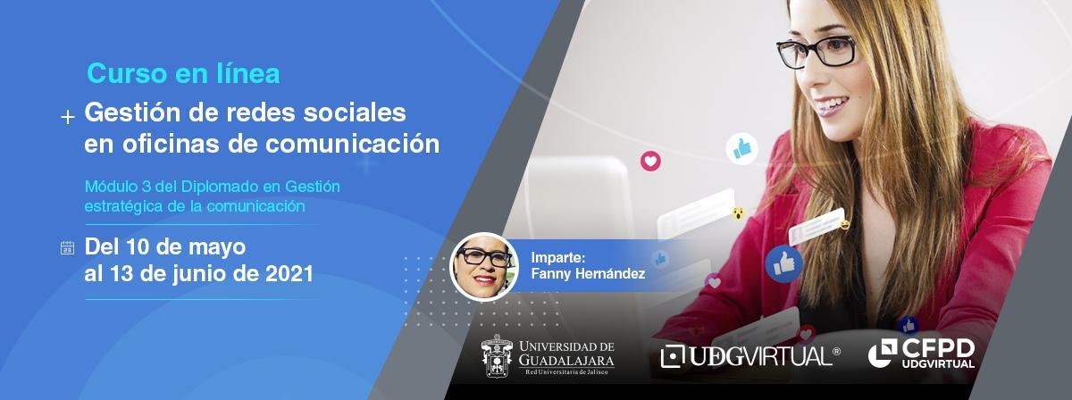 """Curso en línea """"Gestión de redes sociales en oficinas de comunicación"""" ¡Inscríbete!"""