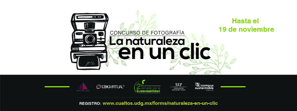 Concurso de fotografía la naturaleza en un clic