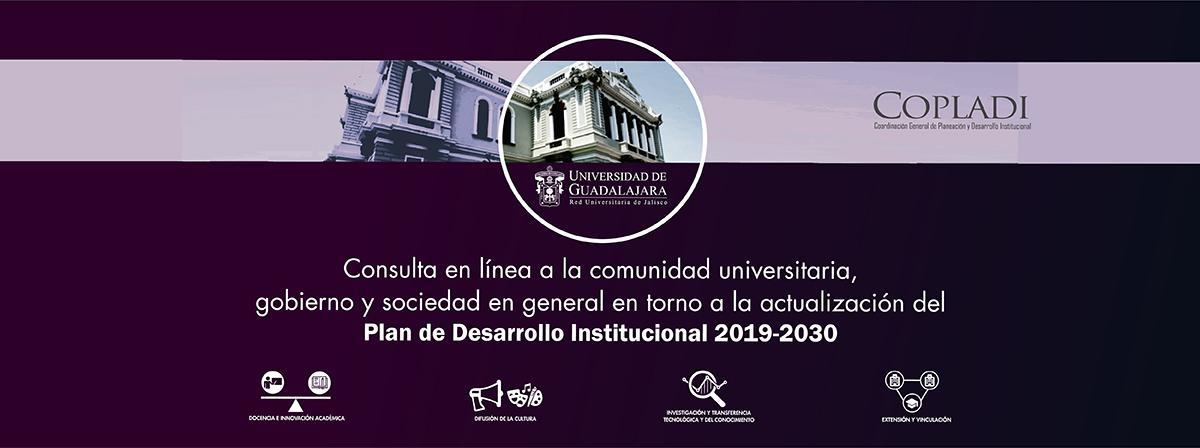 Consulta en línea en torno a la actualización del Plan de Desarrollo Institucional 2019-2030