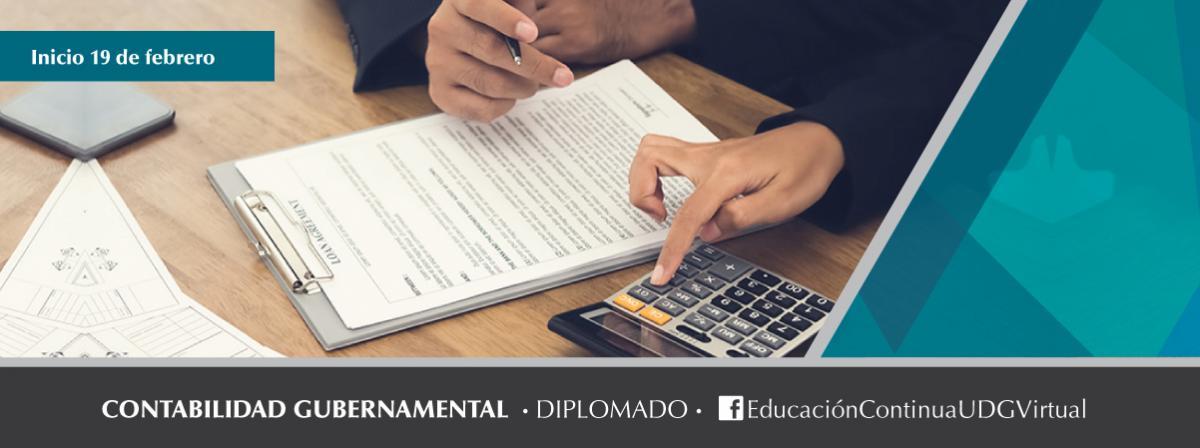 Diplomado Contabilidad Gubernamental, inicio 19 de febrero