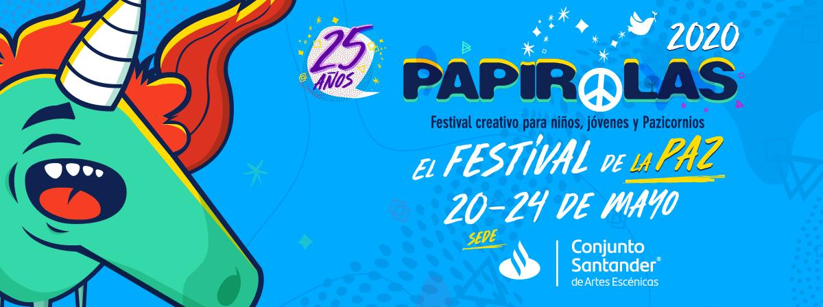 """Papirolas, """"El festival de la paz"""" del 20 al 24 de mayo"""
