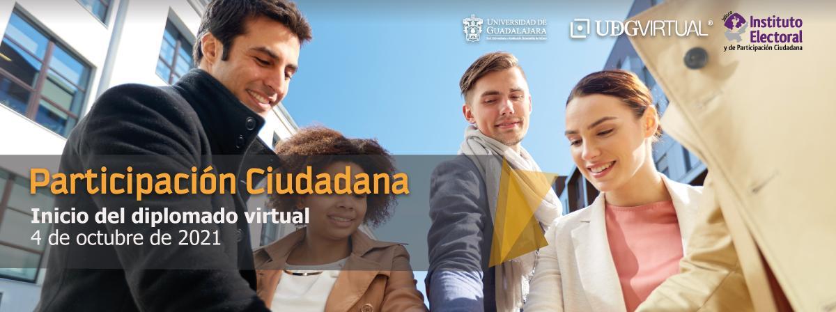 Diplomado en línea de Participación Ciudadana, consulta la convocatoria