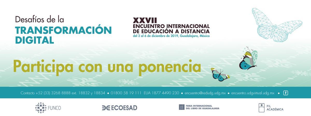 Participa con una ponencia en el Encuentro Internacional de Educación a Distancia
