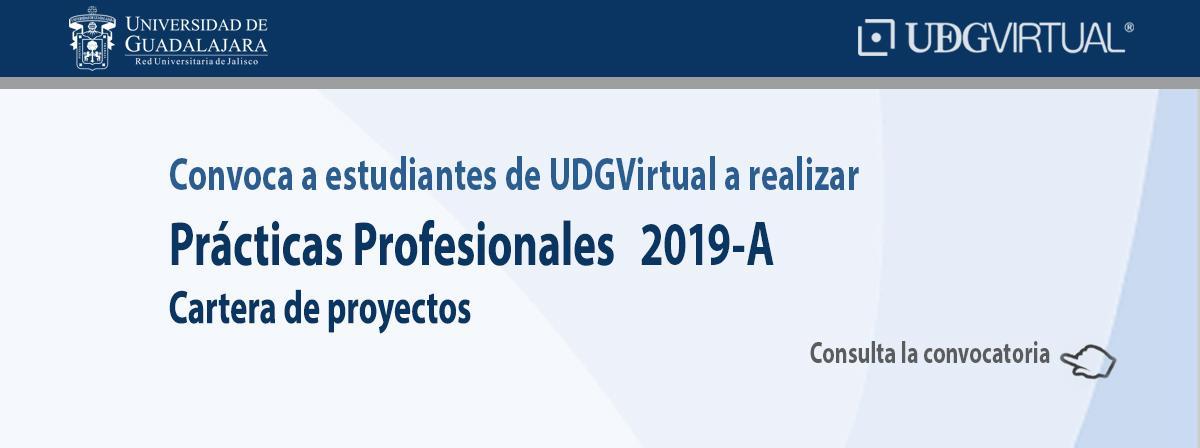 Convocatoria para realizar prácticas profesionales 2019A