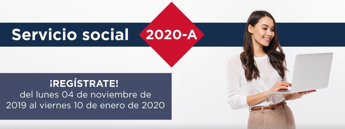 Convocatoria Servicio Social, regístrate antes del 10 de enero 2020