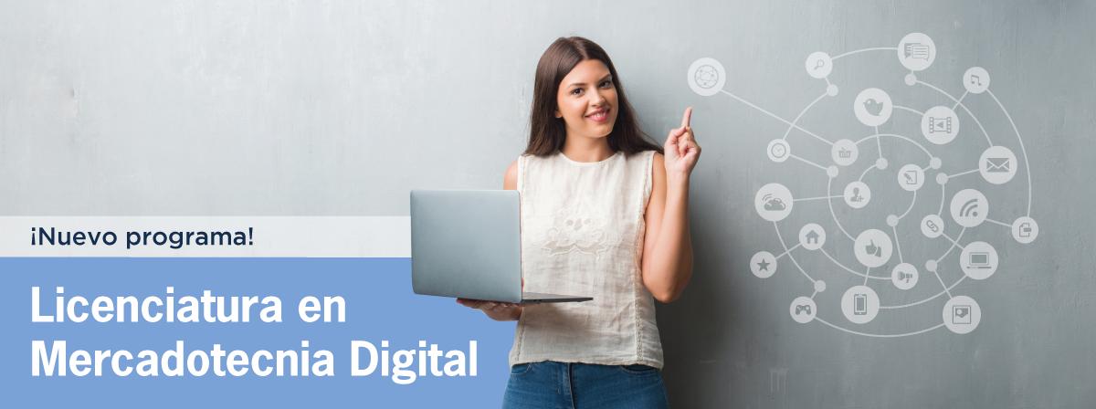 Licenciatura en Mercadotecnia Digital, nuevo programa en UDGVirtual