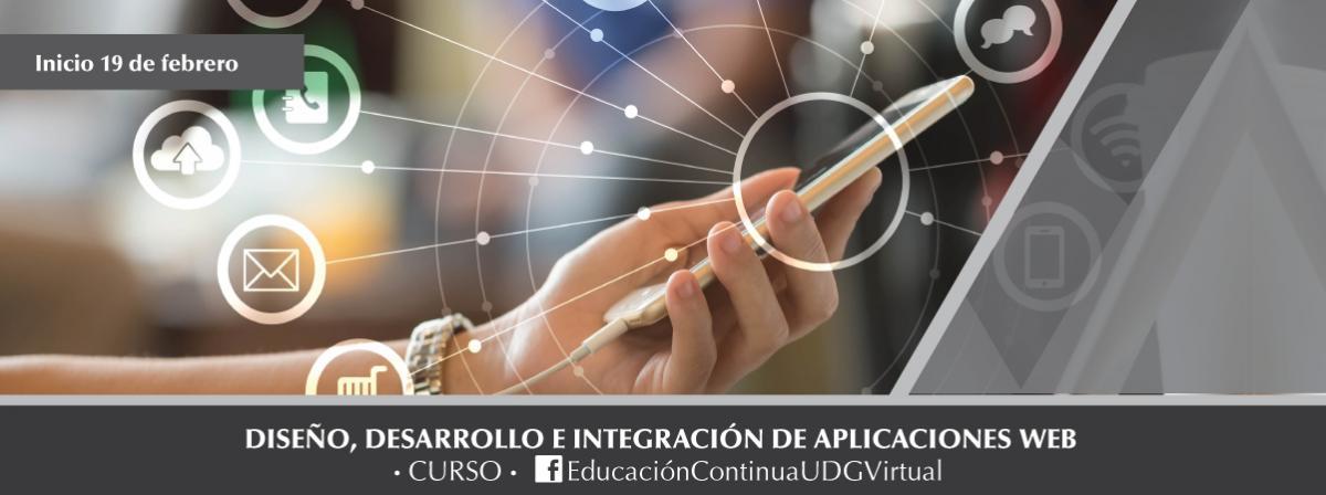 Curso Diseño, desarrollo e integración de aplicaciones web, inicio 19 de febrero