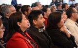 Miembros del Consejo del Sistema de Universidad Virtual durante el Informe de Actividades.