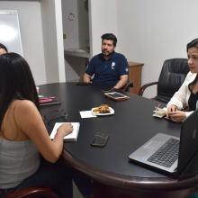Reunión con distintas organizaciones para el programa Cartera de Proyectos
