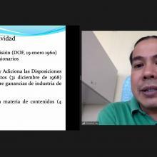 Presentación del profesor investigador Tonatiuh Lay Arellano